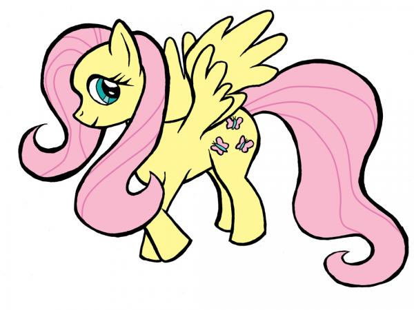Fluttershy (Pony Attempt #1)