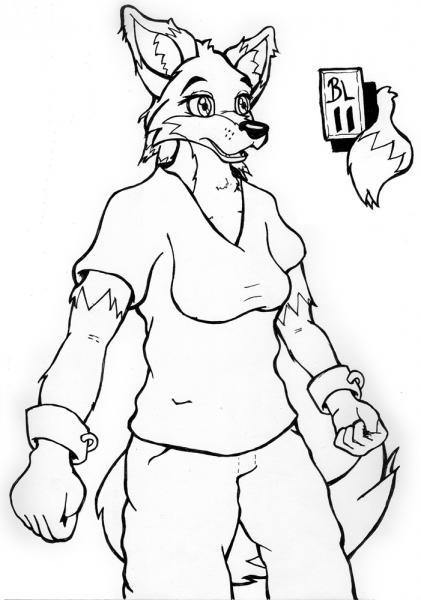 Inky Fox