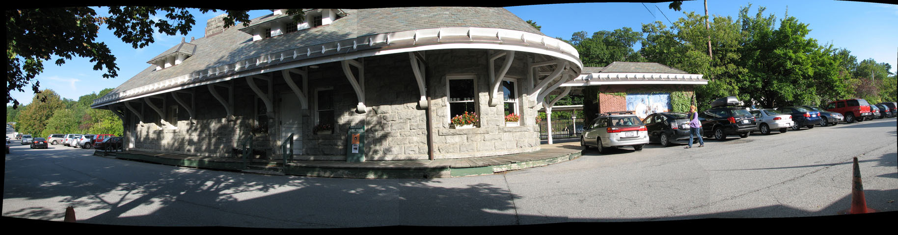 Old Train Station Panorama